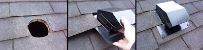 Install Bathroom Fan Roof Vent Submited Images