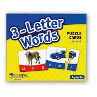 Autism Toys : Spelling Puzzle Cards