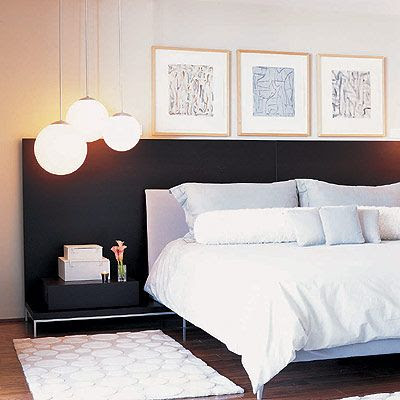 Id es chambre in black 39 n 39 white laissez vous inspirer for Black n white bedroom