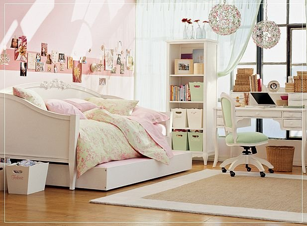 Pretty Teenage Teen Girl Bedrooms