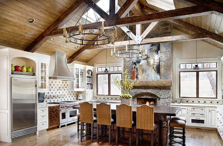 Kitchen Cathedral Ceiling Design Ideas Pictures Zillow Digs