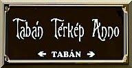 tabántérkép