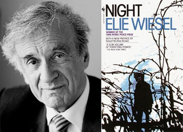 the horrors of the night as seen by elie weisel From the mirror the man peers at an empty corpse the skeleton staring back is nothing but a shell of what was once a student, a child of god, a son in the novel, night, elie wiesel illustrates through the use of imagery how the victims of the holocaust lost their sense of human identity, in result.