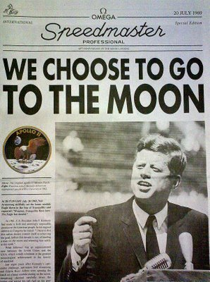 John f kennedy we choose to go to the moon