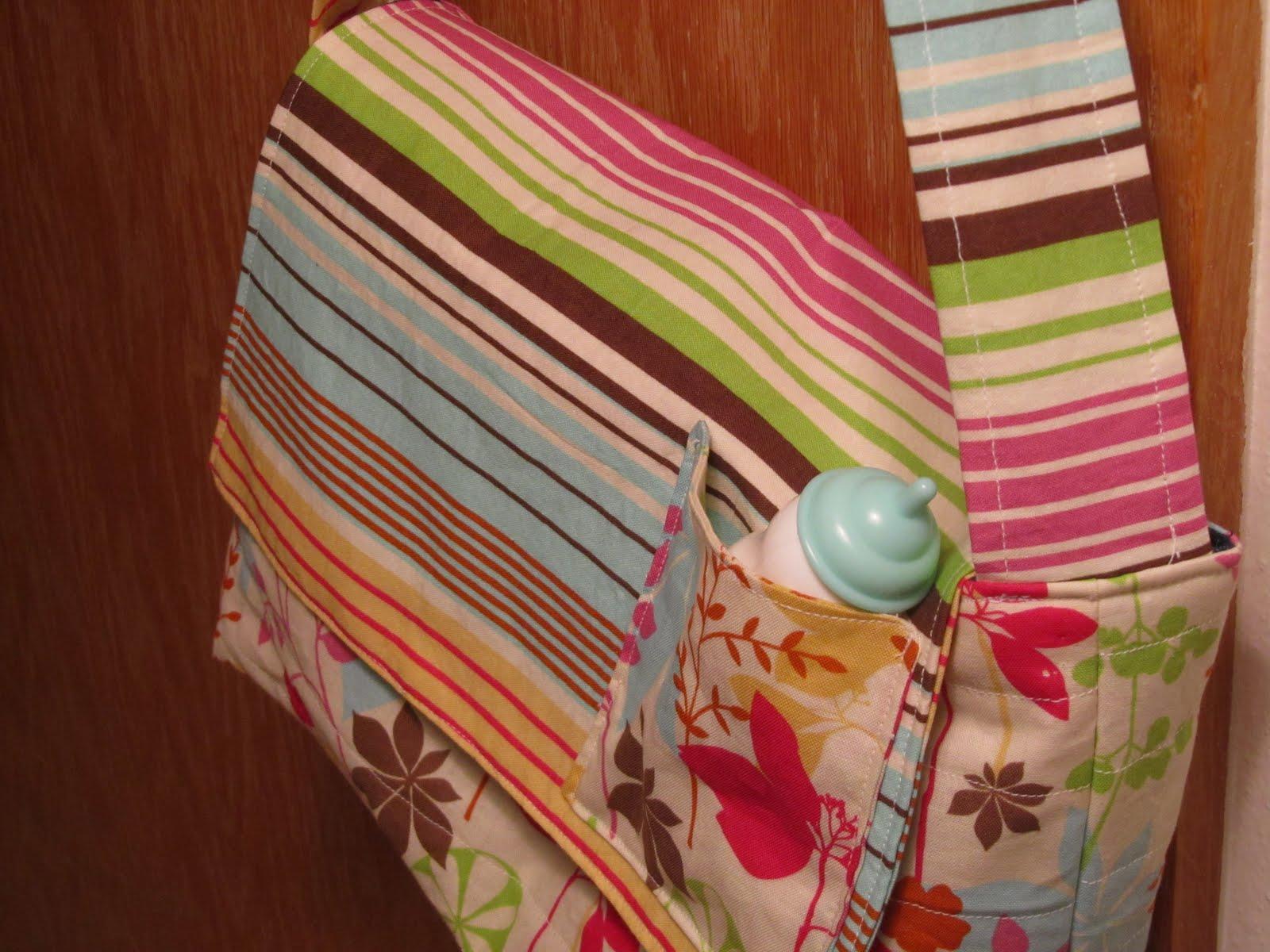 Pretend And Play Diaper Bag Tutorial