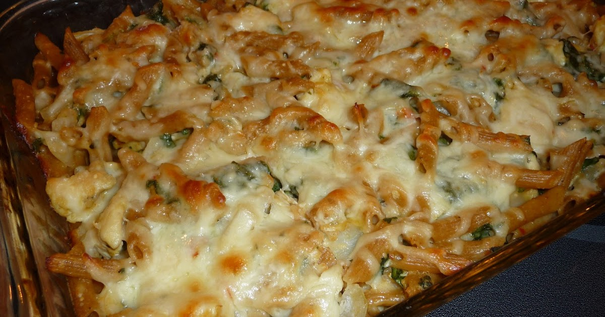 Live.Love.Eat: Baked Ziti with Chicken & Spinach