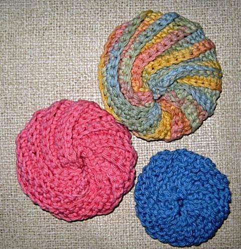 Annie Bebops Coloring Book: Spiral scrubbies & dish cloths