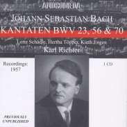 Rare registrazioni live dei primi anni di Karl Richter a Monaco di Baviera (Cantate)
