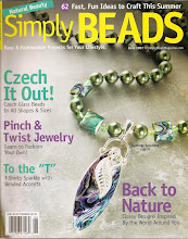 Liz Revit in Simply Beads June 2007