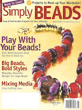 Liz Revit in Simply Beads August 2008