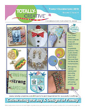 Two Projects by Liz Revit Make Cover of Totally-Creative Magazine