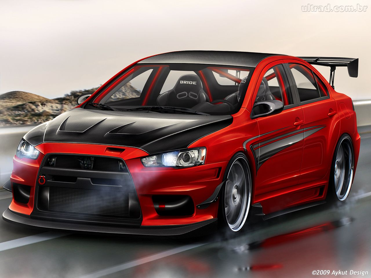 Exposicao De Carros Tunados on lancer car body kits