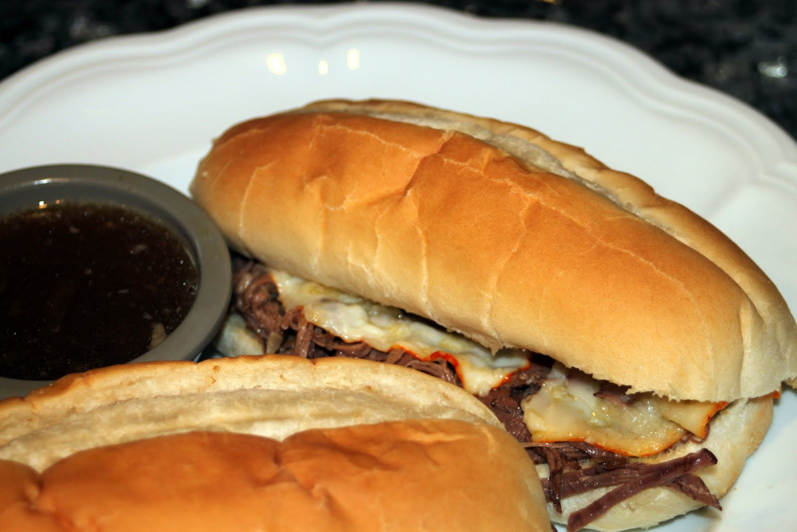 Pineapple Grass: Easy Slow Cooker French Dip