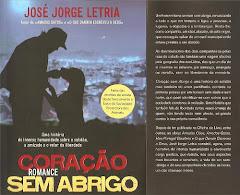 Coracão sem abrigo -Livro de José Jorge Letria