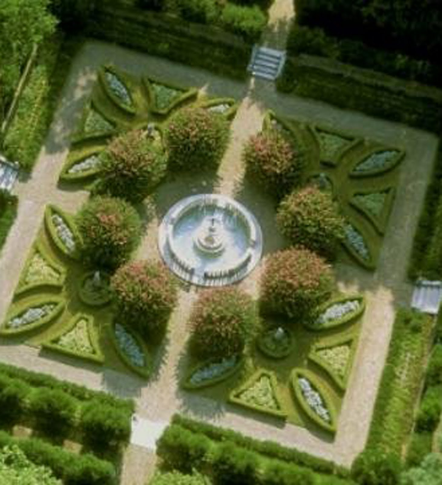 plant preview parterre garden embroidering with plants