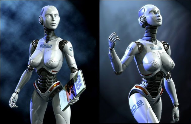 Most Beautiful Female Robots Sexy