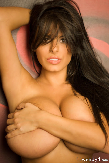 Wendy Fiore Topless Naked Sexy Hot Big Boobs