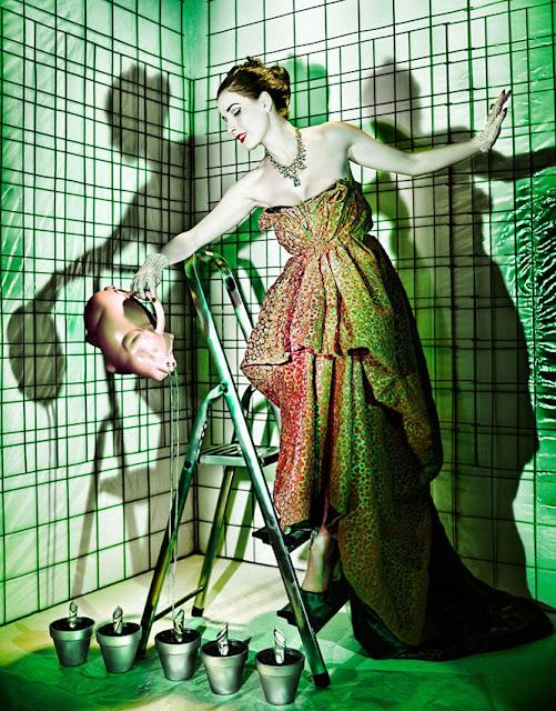 Dita Von Teese BrakhaX2 Shady Green Genlux Magazine