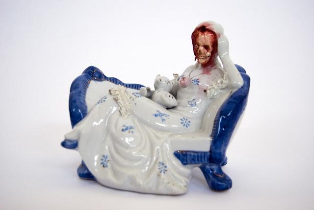 Twisted Ceramic Figurines Jessica Harrison