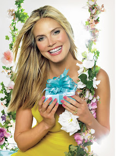 Heidi Klum in Fantastic Color Beauty Model Photoshoot Session by Douglas Gesicht Photography