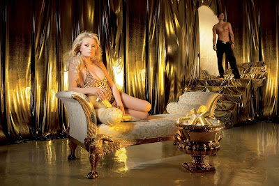 Paris Hilton in Stunning Resplendent Model Photoshoot Session for Huge Promotion of Rich Prosecco