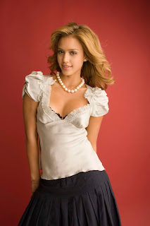 Jessica Alba in Glamorous Fashion Style Model Photoshoot Session