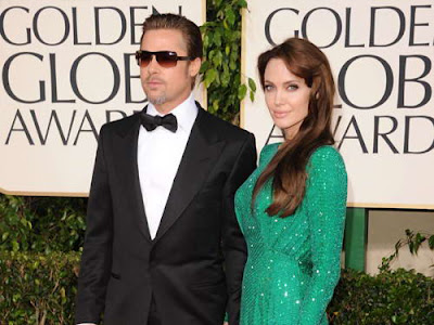 Best Golden Globes 2011 Beauty Looks, Angelina Jolie