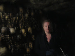 Me in the Catacombs of Paris
