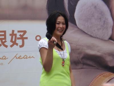 劉若英忘詞,尷尬的笑