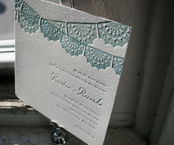 pretty papel picado invites - Papel Picado Wedding Invitations