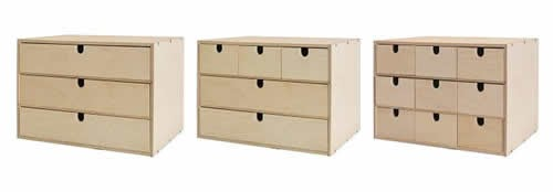 our own home ikea wooden drawers hacked. Black Bedroom Furniture Sets. Home Design Ideas