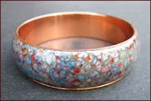 Matisse Copper Bangle