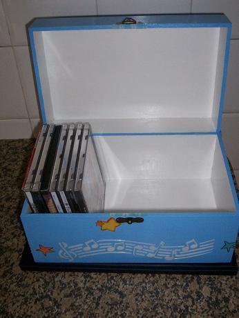 De tudo um pouco caixa para guardar cd s - Para guardar cds ...