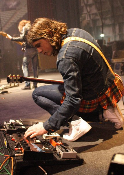 Arctic Monkeys Jamie cook - Pedalboard 2010
