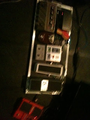 Larry Graham Pedalboard