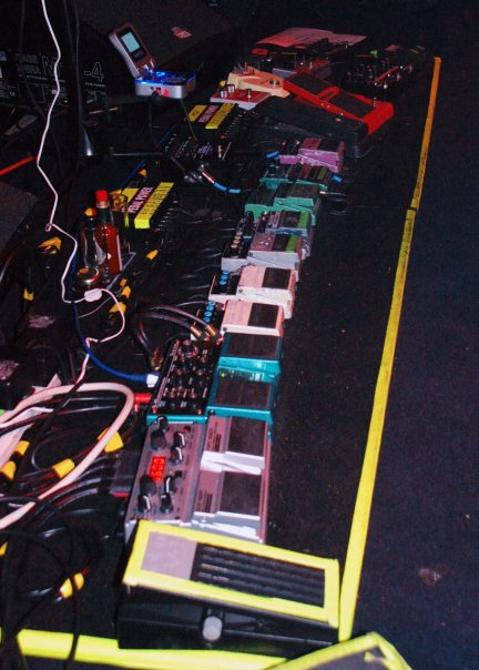 Doug Wimbish pedalboard