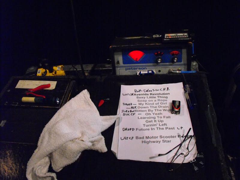 Joe Satriani Chickenfoot Pedalboard