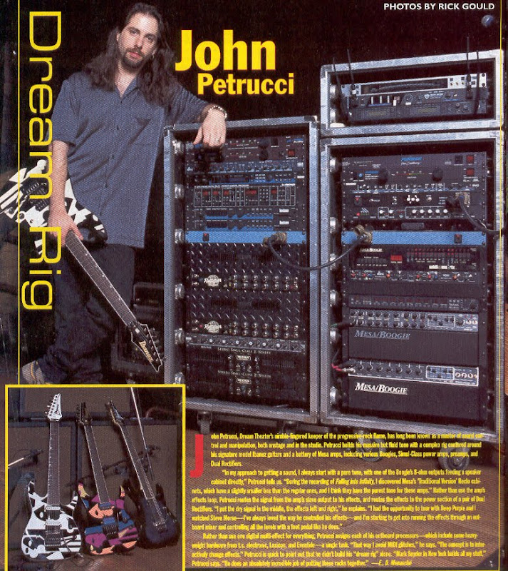 John Petrucci Dream Rig