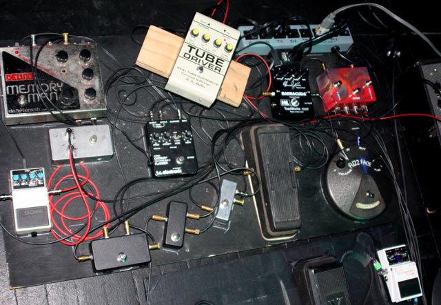 Eric Johnson Pedalboard