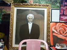 Lukisan ni Dilukis oleh Abg Osman Limat,Datuk zainal abidin ,tuan kadi kedua pahang.