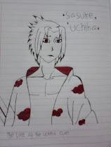 Uchiha Sasuke By Mr. Tabootie's