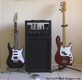 Bass, Guitar and Amp
