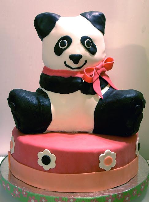 Panda Birthday Cake!