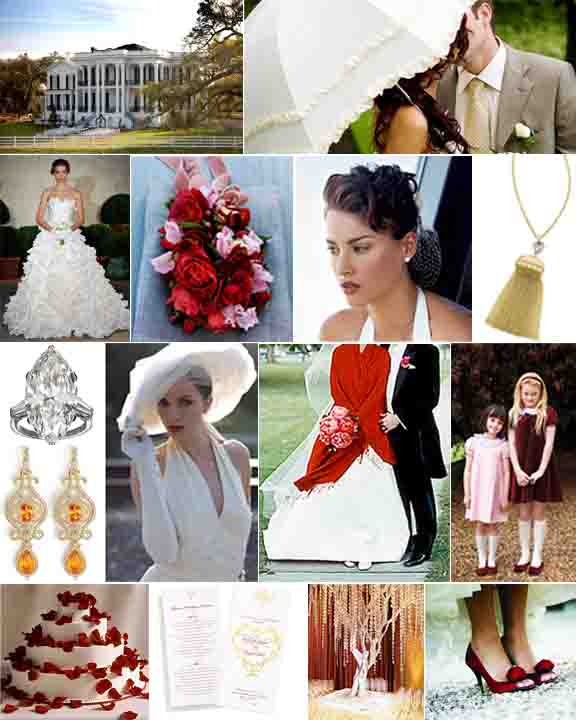 martha stewart hairstyles.  groom in tails (Martha Stewart Weddings), velvet flower girl dress