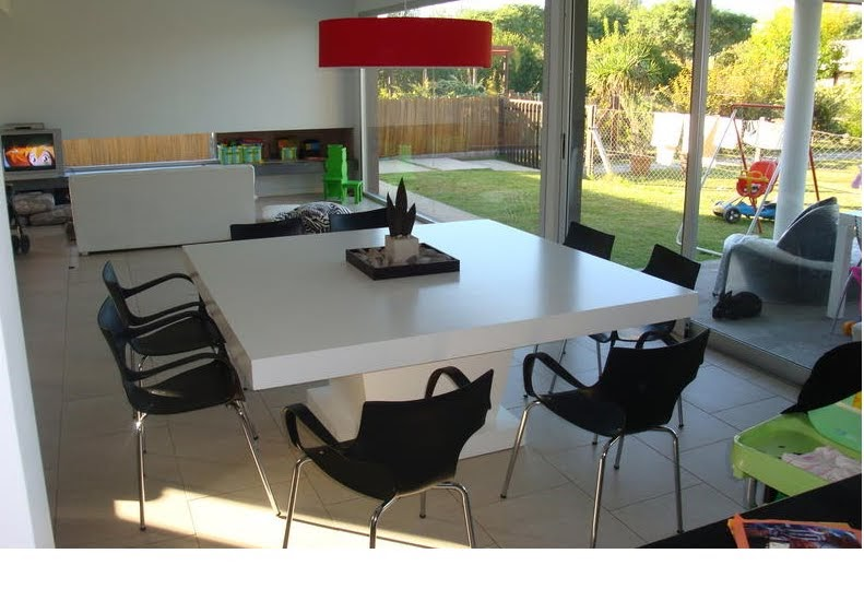 Muebles candida living y comedor - Mesa cocina cuadrada ...