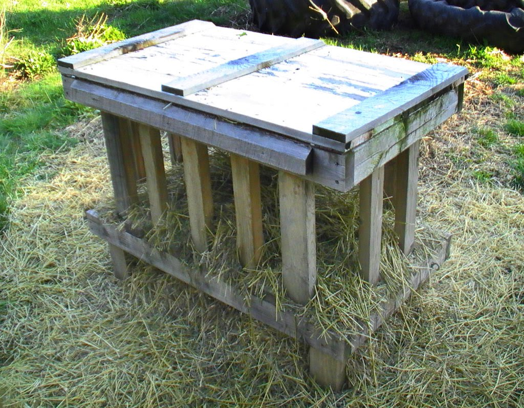 Hay Feeder Plans http://suustainable.blogspot.com/2010/05/diy-goat-hay-feeder.html