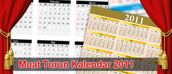Kalendar 2011 Percuma