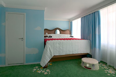 desain kamar tidur yang unik