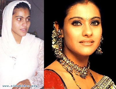 Artis Bollywood : Real vs Makeup