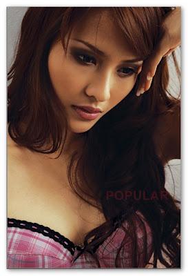 Emma Purnama - Marlin Torareh Bugil majalah Popular 2008
